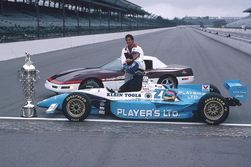 Jacques Villeneuve et Tony George