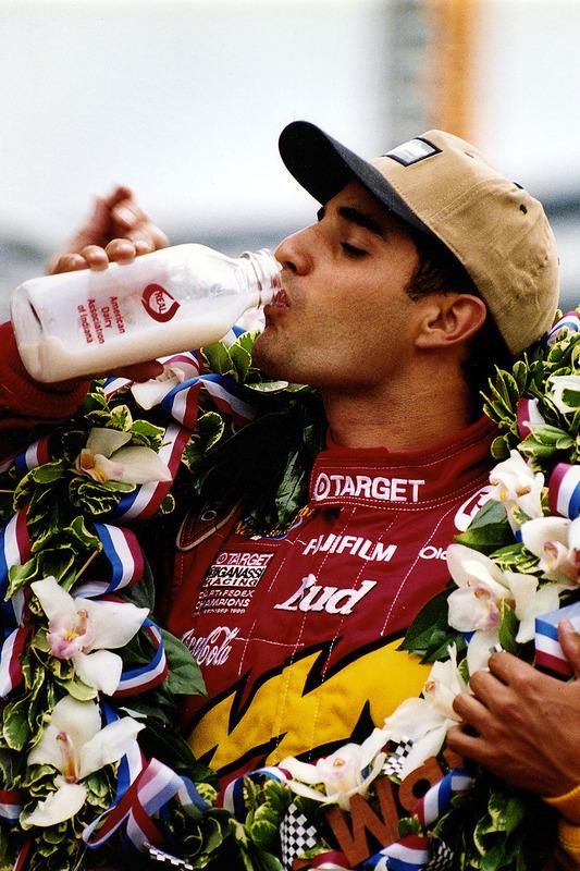 2000: Melk voor Juan Pablo Montoya