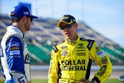 Jimmie Johnson, Hendrick Motorsports Chevrolet; Matt Kenseth, Joe Gibbs Racing, Toyota