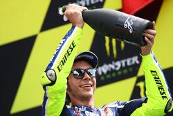 Подиум: второе место - Валентино Росси, Yamaha Factory Racing