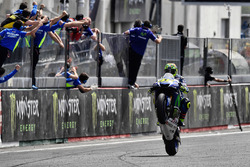 Valentino Rossi, Yamaha Factory Racing takes second place
