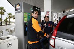 Marc Marquez, Repsol Honda Team di petrol pump