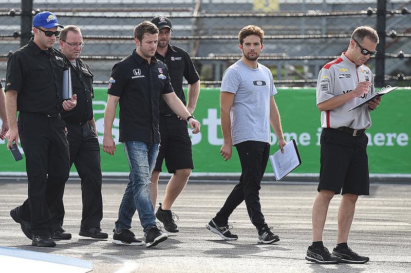 Marco Andretti, Andretti Autosport Honda, Carlos Muñoz, Andretti Autosport Honda