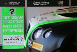 Box von Bentley Team M-Sport, Bentley Continental GT3