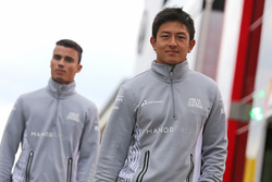 Rio Haryanto, Manor Racing e Pascal Wehrlein, Manor Racing