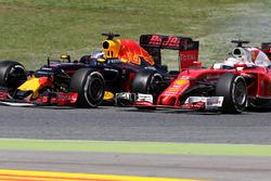 Даніель Ріккардо, Red Bull Racing та Себастьян Феттель, Scuderia Ferrari