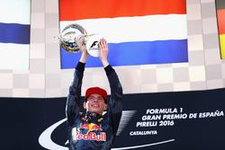 Макс Ферстаппен, Red Bull Racing празднует свою первую победу
