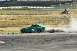 Trouble for #147 Freedom Autosport Mazda MX-5: Sarah Cattaneo, Deborah Loth
