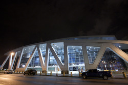 Atlanta Thrashers hockey game: the Philips Arena