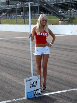 Jason Plato's Grid Girl