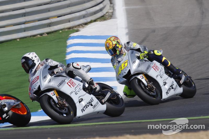 Fiat Yamaha Team - Jorge Lorenzo e Valentino Rossi - GP del Portogallo 2009