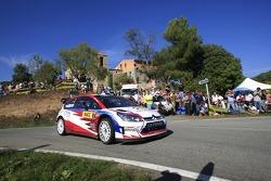 Evgeny Novikov and Stephane Prévot, Citroen Junior Team Citroen C4 WRC