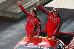 Driver Parade: #2 Toll Holden Racing Team: Garth Tander, Will Davison
