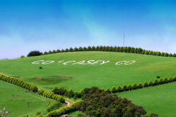 Australian fans show their dedication for Casey Stoner