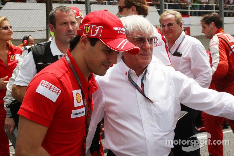 Felipe Massa, Scuderia Ferrari, Bernie Ecclestone