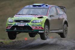 Mikko Hirvonen and Jarmo Lehtinen, BP Ford Abu Dhabi World Rally Team Ford Focus RS WRC08