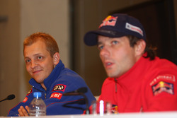 Press conference with 2009 WRC title contenders Mikko Hirvonen and Sébastien Loeb