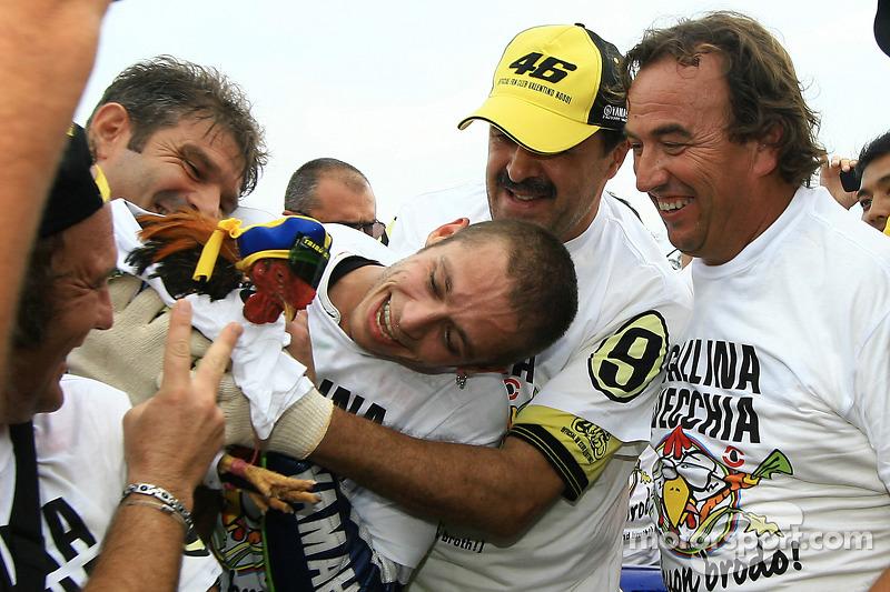 Чемпіон MotoGP 2009 року Валентино Россі, Fiat Yamaha Team