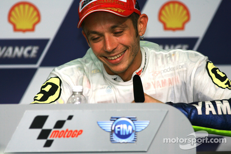 Post-race persconferentie: Valentino Rossi, Fiat Yamaha Team