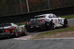 #35 Nissan Motorsports Nissan GT-R: Michael Krumm, Darren Turner, #40 Marc VDS Racing Team Ford GT: Bas Leinders, Renaud Kuppens