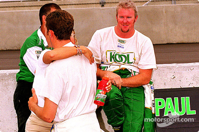 Greg Moore, Liisa Tracy & Paul Tracy