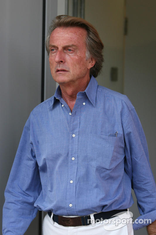 Luca di Montezemolo, president Scuderia Ferrari