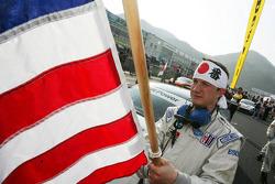 Rahal Letterman Racing team member