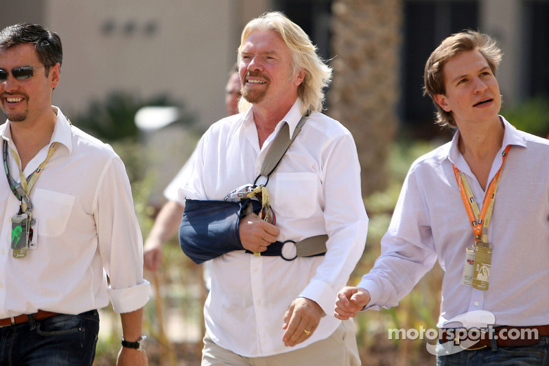Sir Richard Branson, Presidente del Grupo Virgin