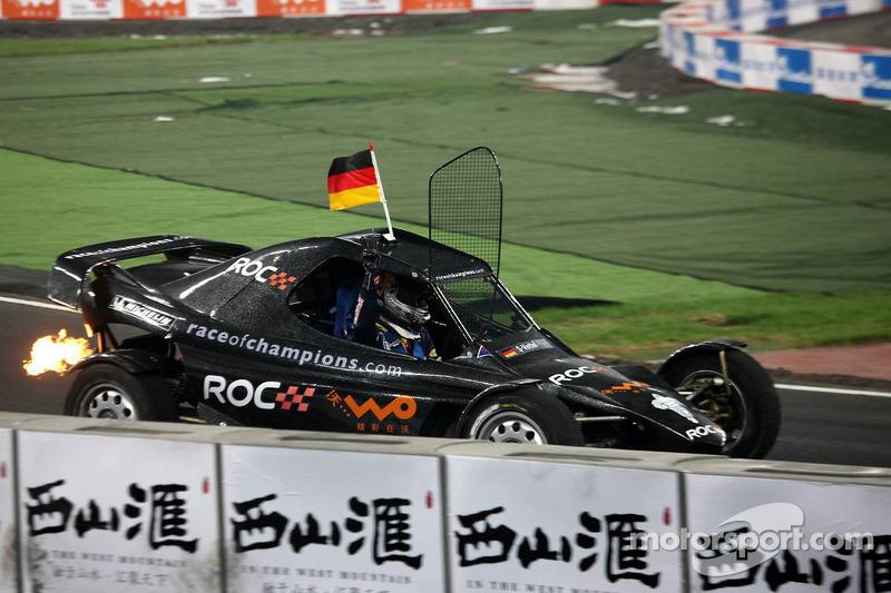 Quarter final, race 3: Sebastian Vettel