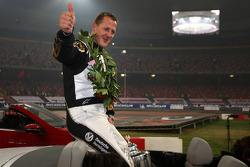 Race of Champions second place Michael Schumacher