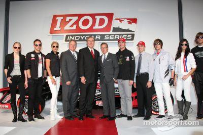 Anuncio del campenato de la IndyCar