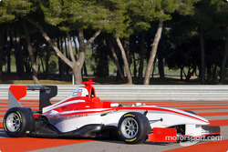 The GP3 Series car on display