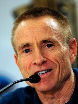 NASCAR championship contenders press conference in Coral Gables: Mark Martin, Hendrick Motorsports Chevrolet