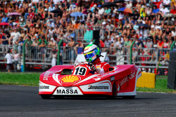 Second race: Felipe Massa