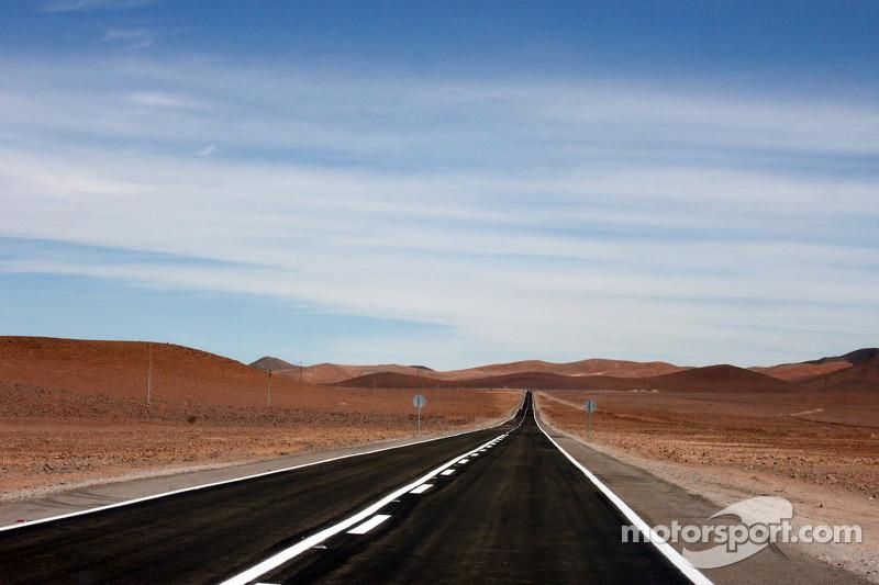 Camino en Chile