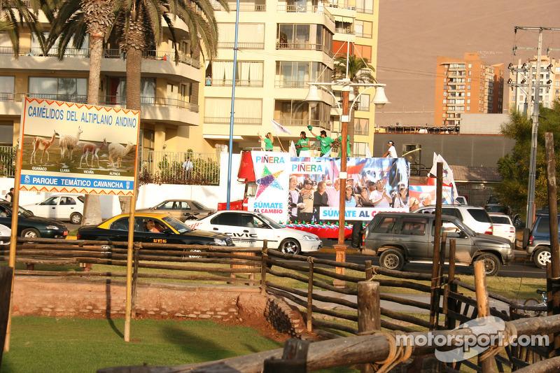 Scène de rue dans Antofagasta