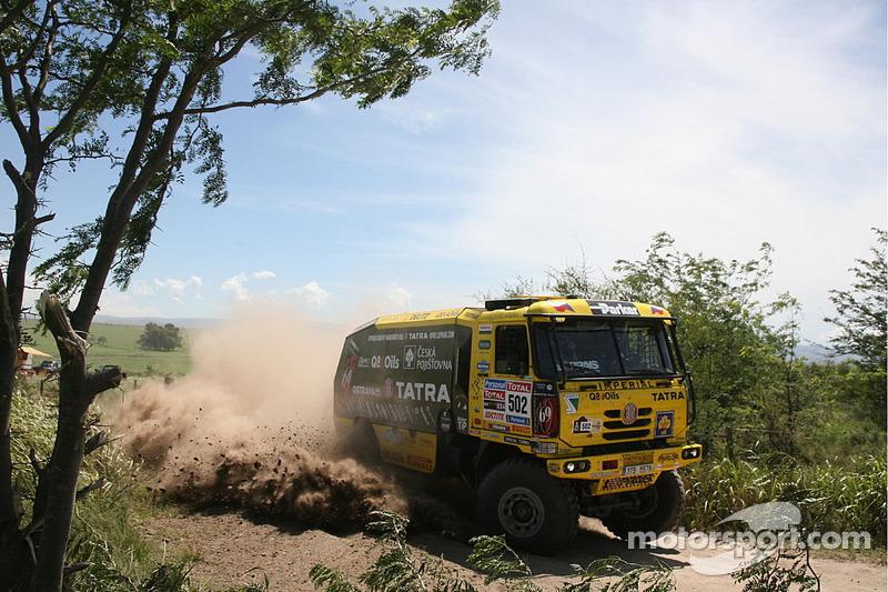 #502 Tatra: Ales Loprais, Milan Holan, Miskolci Jaroslav
