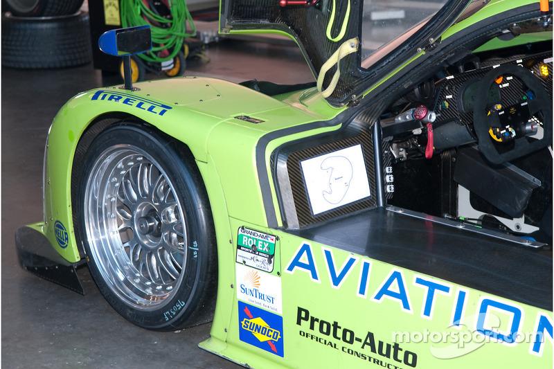 #75 Krohn Racing Ford Lola