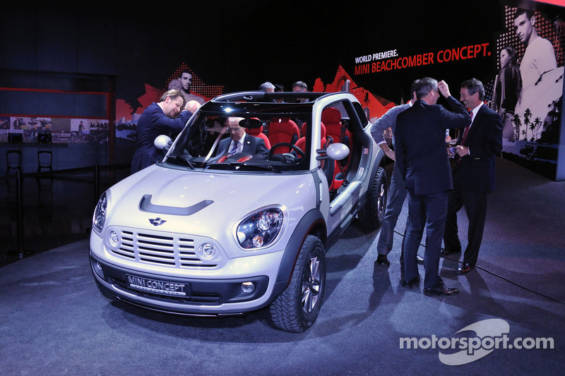 Mini Beachcomber Concept At North American International Auto Show