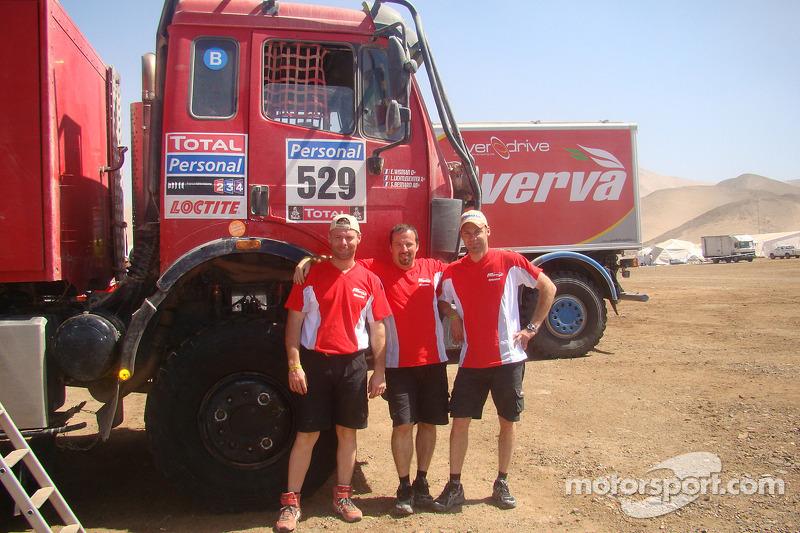 #529 Mercedes: Sylvain Besnard, Emmanuel Wisman et Laurent Lichtleuchter