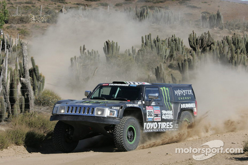 #302 Hummer: Robby Gordon et Andy Grider
