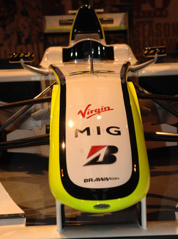 Nez de la Brawn GP de Jenson Button