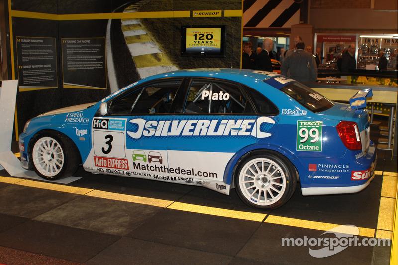 Jason Platos 2009 BTCC Silverline Lacetti