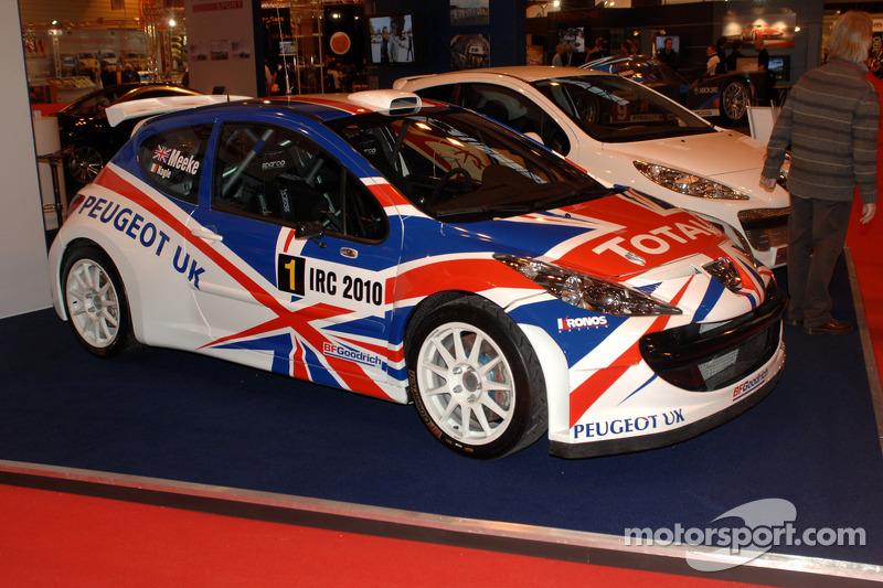 Peugeot IRC victorieuse de Chrise Meekes