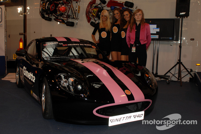 Sarah Moore et sa nouvelle Ginetta G40
