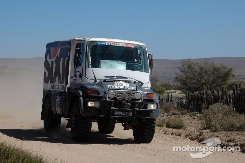 #541 Mercedes: Marco Piana, Christophe Troesch et Alain Multinu