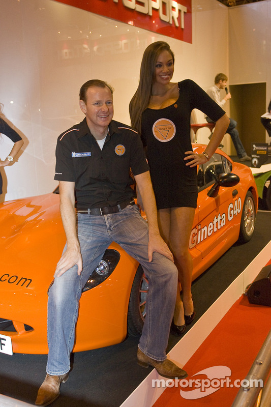 Lawrence Tomlinson révèle la nouvelle Ginetta sport