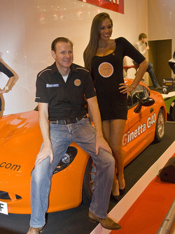 Lawrence Tomlinson unveils new Ginetta sports car