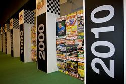 60 years of autosport display