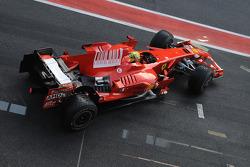 瓦伦蒂诺•罗西测试法拉利F2008